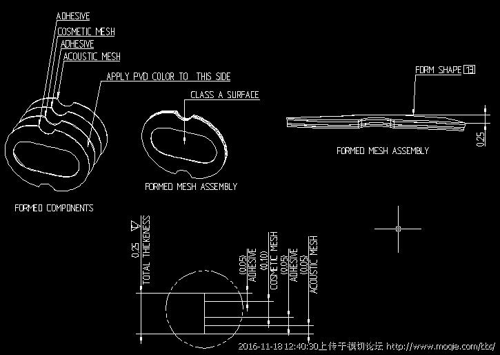 苹果耳机喇叭网模切